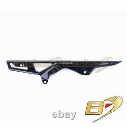 2011-2018 GSX-R 600 750 Carbon Fiber Chain Guard Cover Mud Fairing Twill Weave