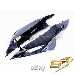 2011-2018 GSX-R 600 750 Carbon Fiber Seat Tail Side Covers Twill Weave