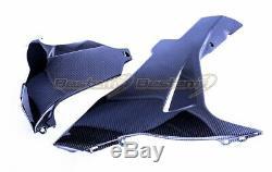 2011-2018 Suzuki GSX-R 600 750 Carbon Fiber Belly Pan Twill Weave Pattern