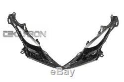 2011 2018 Suzuki GSXR 600 750 Carbon Fiber Nose Fairing 2x2 twill