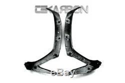 2011 2019 Kawasaki Ninja ZX10R Carbon Fiber Front Side Panels 2x2 twill