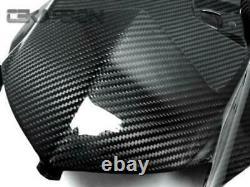 2012 2014 BMW S1000RR / HP4 Carbon Fiber Under Tail Fairing 2x2 twill weaves