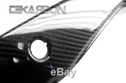 2012 2015 KTM Duke 200 125 390 Carbon Fiber Tail Side Panels 2x2 twill