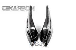 2012 2015 MV Agusta Brutale 675 Carbon Fiber Tail Side Fairings 2x2 twill