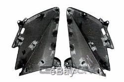 2012 2015 Yamaha Tmax 530 Carbon Fiber Front Side Fairings 2x2 twill Weaves