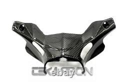 2012 2015 Yamaha Tmax 530 Carbon Fiber Lower Handle Bar Cover 2x2 twill