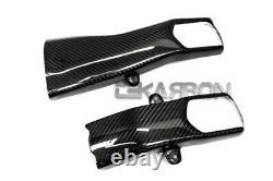 2012 2015 Yamaha Tmax 530 Carbon Fiber Swingarm Covers 2x2 twill weave