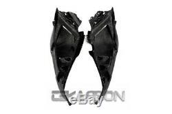 2012 2015 Yamaha Tmax 530 Carbon Fiber Tail Side Fairings 2x2 twill weave