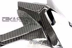 2012 2015 Yamaha Tmax 530 Carbon Fiber Top Under Tail Fairing 2x2 twill