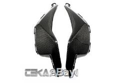 2012 2016 Honda CBR1000RR Carbon Fiber Side Tank Panels 2x2 twill weaves