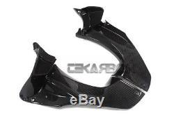 2012 2016 Kawasaki Ninja ZX14R Carbon Fiber Air Intake Cover 2x2 twill weave