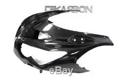 2012 2016 Kawasaki Ninja ZX14R Carbon Fiber Front Fairing 2x2 twill weave