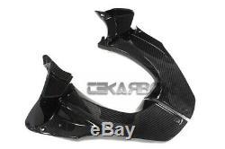 2012 2016 Kawasaki ZX14R Carbon Fiber Air Intake Cover 2x2 twill weave
