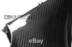 2012 2016 Kawasaki ZX14R Carbon Fiber Inner Side Panels 2x2 twill weave