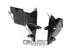 2012 2016 Kawasaki ZX14R Carbon Fiber Middle Inner Side Panels 2x2 twill