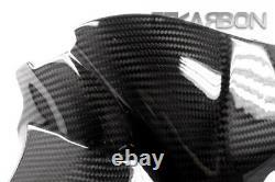 2013 2014 Triumph Daytona 675 Carbon Fiber Air Intake Cover 2x2 twill weave