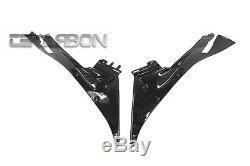 2013 2016 Honda CBR600RR Carbon Fiber Lower Inner Side Panels 2x2 twill