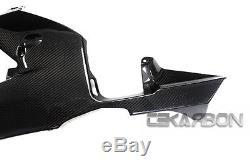 2013 2016 Honda CBR600RR Carbon Fiber Lower Side Fairings 2x2 twill weave