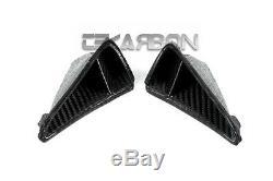 2013 2016 Honda CBR600RR Carbon Fiber Tail Air Intake Scoop Trim 2x2 twill