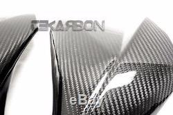 2013 2016 Kawasaki Z800 Carbon Fiber Large Side Fairings 2x2 Twill weave