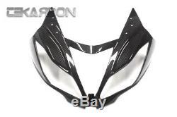 2013 2016 Kawasaki ZX6R Carbon Fiber Front Fairing- 2x2 twill weaves