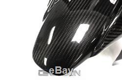2013 2016 Yamaha FZ07 MT07 Carbon Fiber Front Fender 2x2 twill weave