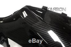 2013 2016 Yamaha FZ07 MT07 Carbon Fiber Side Tank Panels 2x2 twill weave