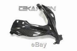 2013 2017 Kawasaki Ninja 300 250R Carbon Fiber Front Fairing 2x2 twill weave