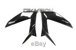 2013 2018 Kawasaki ZX6R Carbon Fiber Side Fairing Panels twill weaves