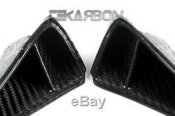 2013 2019 Honda CBR600RR Carbon Fiber Tail Air Intake Scoop Trim 2x2 twill