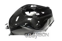 2013 2019 Honda CBR600RR Carbon Fiber Tank Cover 2x2 twill weave