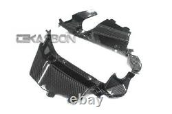 2013 2019 Honda CBR600RR Carbon Fiber Upper Inner Side Panels 2x2 twill