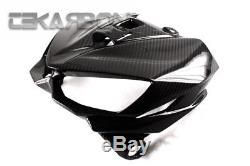 2014 2016 Kawasaki Z1000 Carbon Fiber Front Fairing 2x2 twill weaves