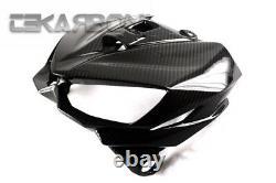 2014 2016 Kawasaki Z1000 Carbon Fiber Front Fairing Cowling Panel 2x2 twill