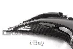 2014 2016 Kawasaki Z1000 Carbon Fiber Front Side Fairings 2x2 twill weaves