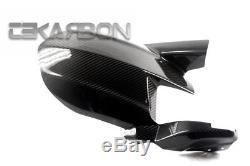 2014 2016 Kawasaki Z1000 Carbon Fiber Rear Hugger 2x2 twill weaves