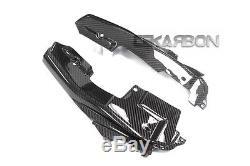 2014 2016 Yamaha FZ09 MT09 Carbon Fiber Inner Tail Side Panels 2x2 twill