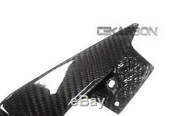 2014 2016 Yamaha FZ09 MT09 Carbon Fiber Tail Side Fairings 2x2 twill weave