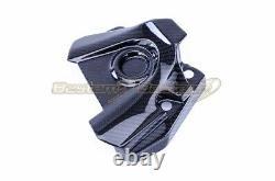 2014-2019 Yamaha FZ-09 MT-09 FJ-09 XSR900 Carbon Fiber Sprocket Cover Twill