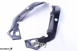 2015 2016 BMW S1000RR Frame Covers, 100% Carbon Fiber Twill