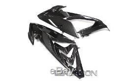 2015 2017 BMW S1000RR Carbon Fiber Mid Side Fairings 2x2 twill weaves