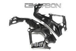 2015 2017 BMW S1000RR Carbon Fiber Racing Frame Covers 2x2 twill weaves