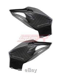 2015-2017 BMW S1000XR Lower Bottom Belly Pan Cowl Fairing Twill Carbon Fiber