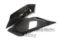 2015 2017 Kawasaki Ninja H2 Carbon Fiber Tail Side Fairings 2x2 twill weaves