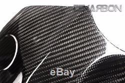 2015 2017 Yamaha YZF R1 Carbon Fiber Front Tank Cover 2x2 twill weaves