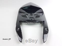 2015-2018 BMW S1000RR S1000R Carbon Fiber Undertail Tail Cowl Fairing Twill