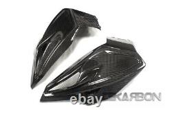 2015 2018 BMW S1000XR Carbon Fiber Gas Fuel Front Tank Cover 2x2 twill