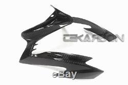 2015 2018 Suzuki GSX-S1000 Carbon Fiber Front Fairing 2x2 twill weave