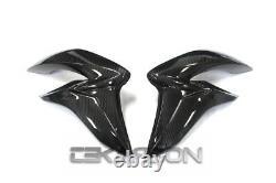 2015 2018 Suzuki GSX-S1000 Carbon Fiber Large Side Fairings 2x2 twill weave
