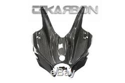 2015 2019 Kawasaki Ninja H2 Carbon Fiber Front Fairing Cowl 2x2 twill weaves